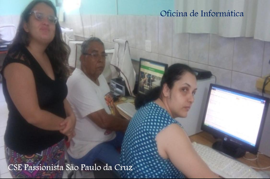 Atividades desenvolvidas no projeto CSEP São Paulo da Cruz