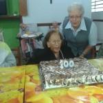 Comemoração do centenário da senhora Ana Teresa Cardassi