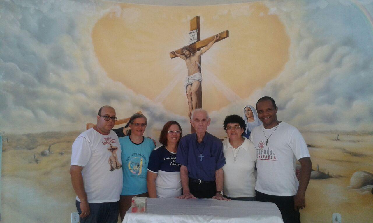 Celebrando a festa de São Paulo da Cruz