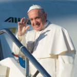 A jornalistas, Papa destaca ecumenismo na viagem à Suécia