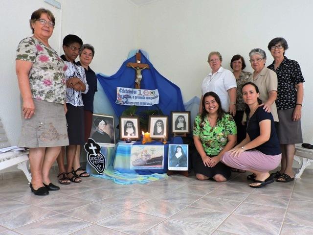 Abertura do 1° centenário  das Irmãs Passionistas no Brasil