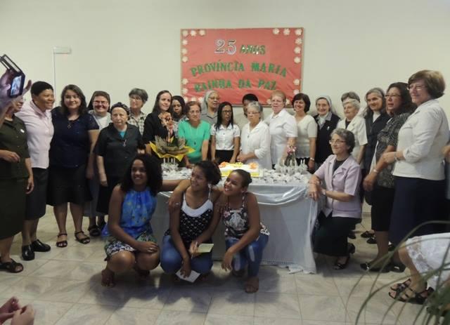Celebração pelos 25 anos de fundação