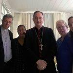 Momento de graça na comunidade Mãe da Santa Esperança, em Riacho Fundo I, DF