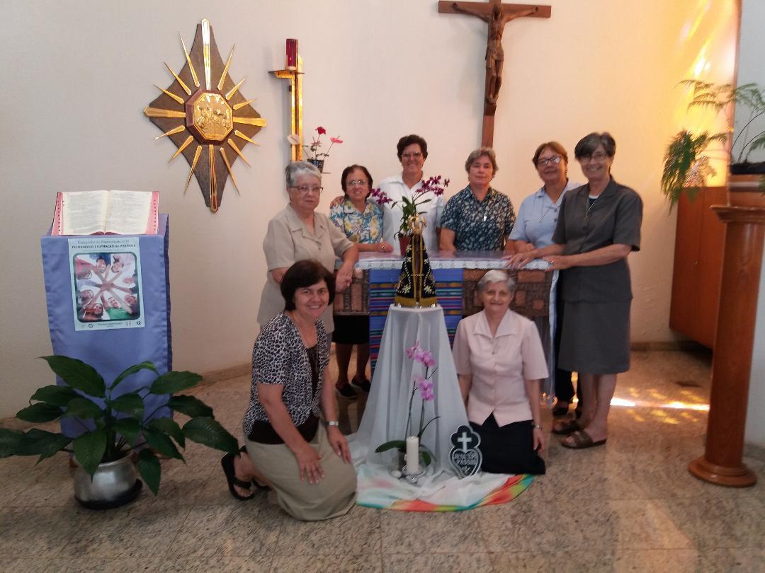Mãe Aparecida visita a Comunidade Passionista Imaculada Conceição