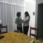 Visita fraterna da Ir. Célia à Com. Passionista Coração de Jesus