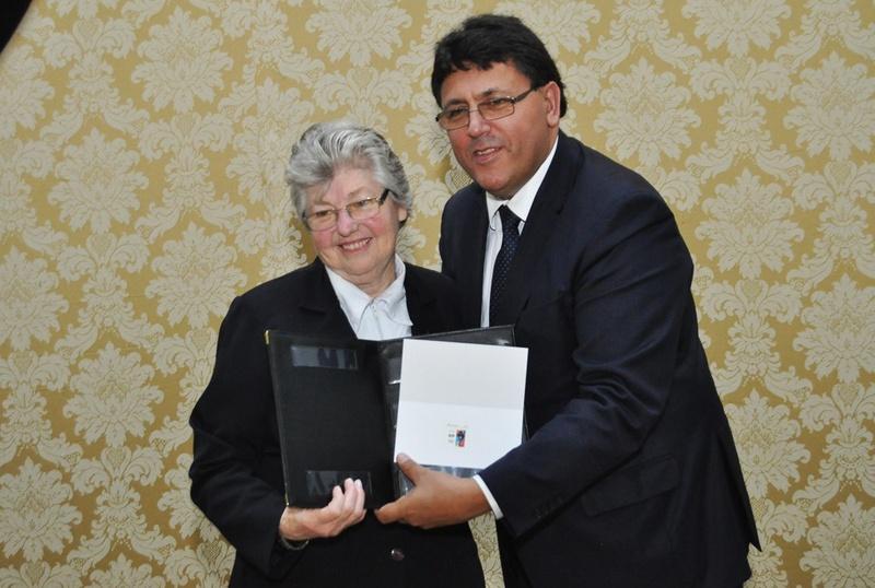 Lançamento do Selo dos 100 Anos da Chegada das Irmãs Passionistas no Brasil