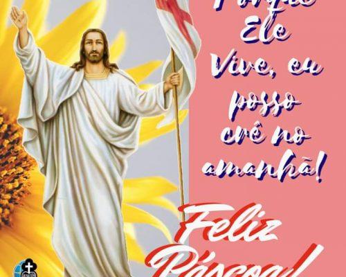 Jesus Ressuscitou! Aleluia!