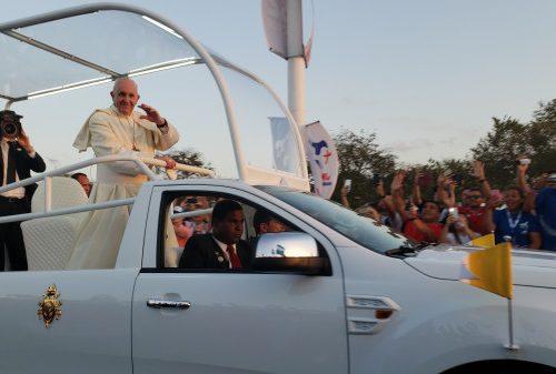O agradecimento público do Papa ao seu motorista que se aposenta